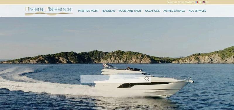 Venez naviguer sur notre nouveau site: riviera-plaisance.com
