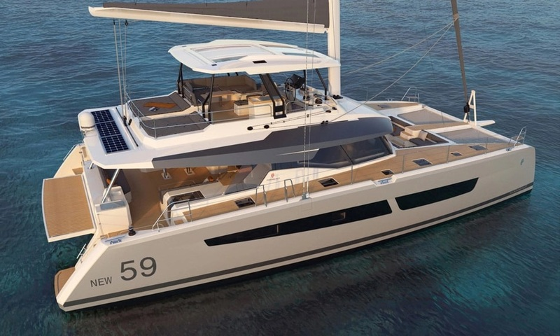 YACHTING FESTIVAL CANNES 2020 - CATAMARANS FOUNTAINE PAJOT