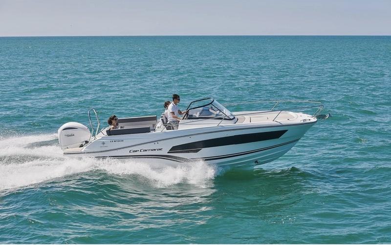 Visite complète et essai du nouveau Jeanneau Cap Camarat 7.5 WA série 3 avec Riviera Plaisance